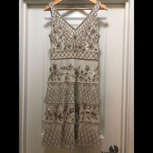 Adrianna Papell beaded dress, beautiful